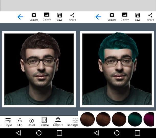 Editor de peinado (Android)