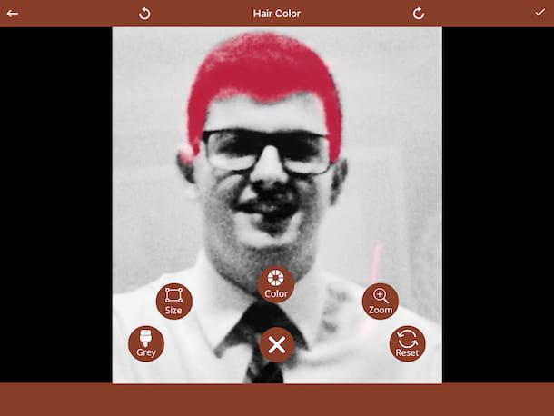 Peinado: Hair Color Maker (iOS)