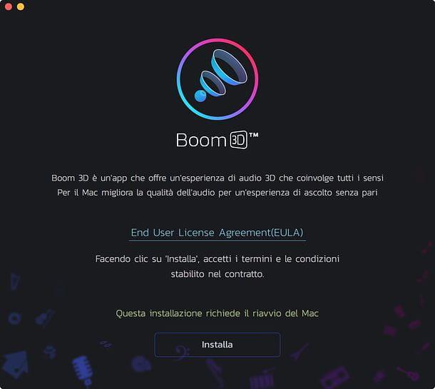 Instalar Boom 3D