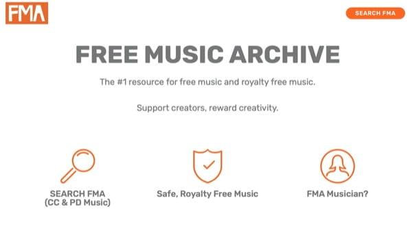 Archivo de música gratuito