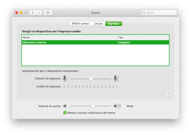 Reactivar el micrófono macOS