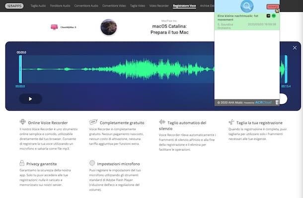 Extensión de música AHA para Chrome