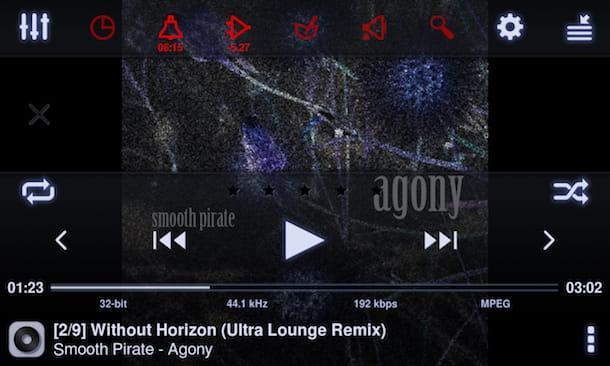 Aplicación para escuchar música sin conexión Android