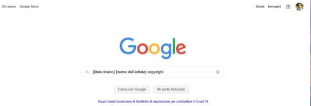 Busca en Google un título protegido por derechos de autor