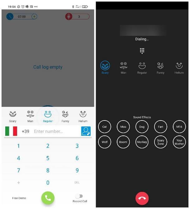 Cómo cambiar la voz en la llamada: Smartphone