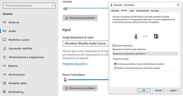 Cómo escuchar el micrófono en los altavoces de Windows 10