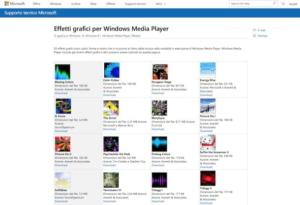Descarga gratuita de efectos gráficos para Windows Media Player